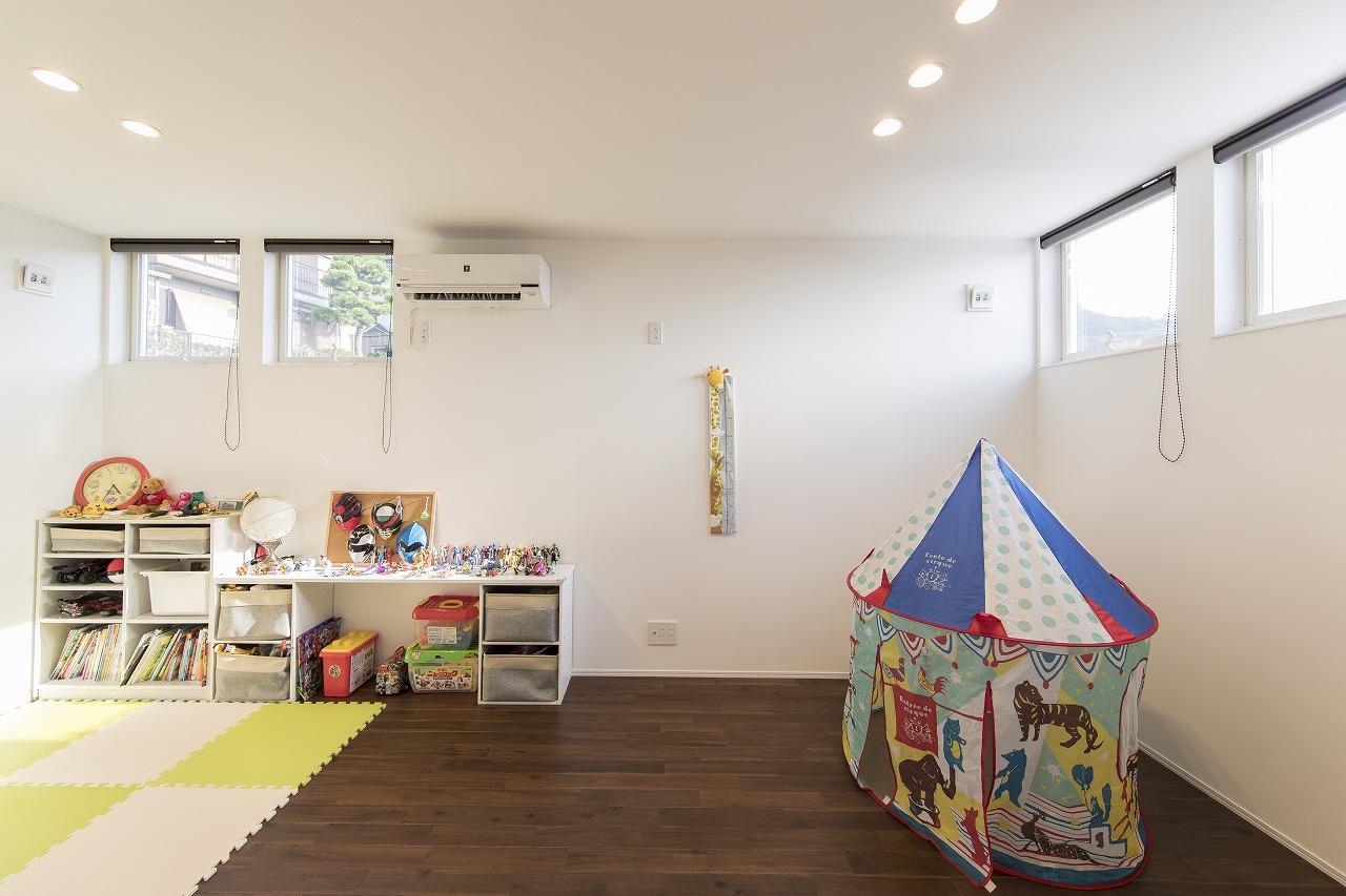 子供が伸び伸び育つ家