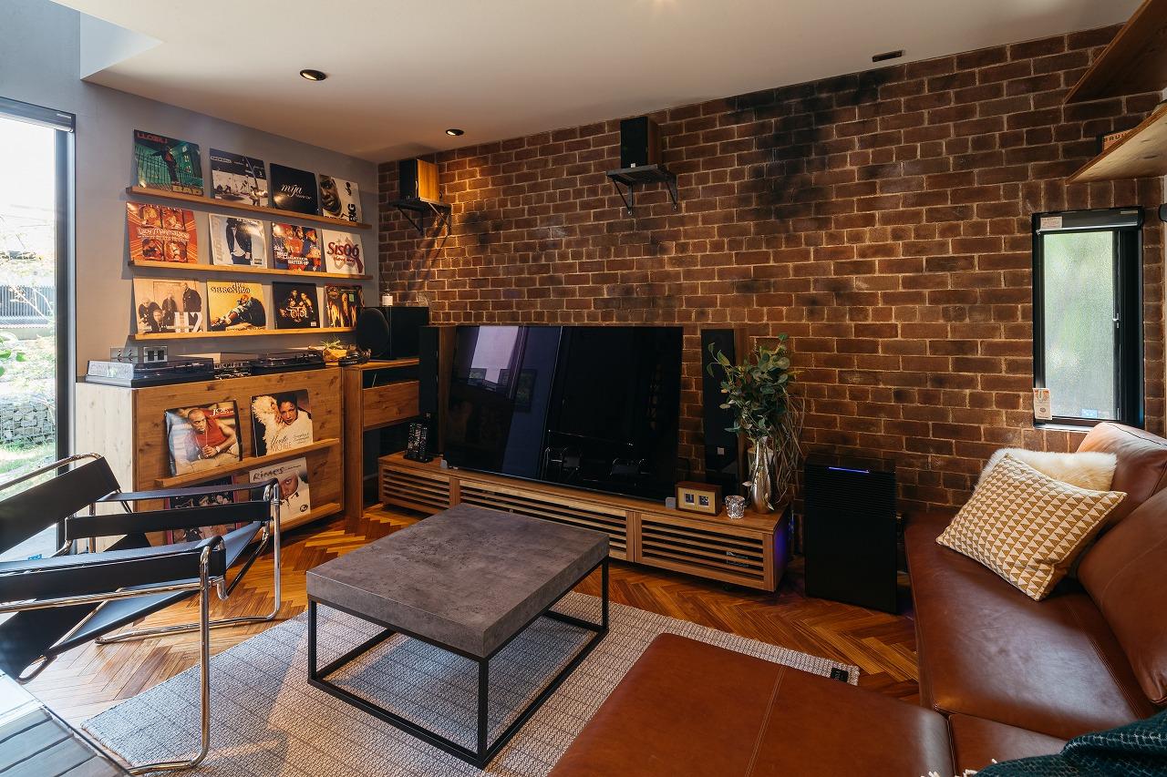 デザイン家具が似合う大人が愉しむ家