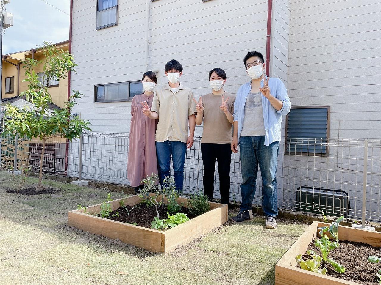 姶良市で家づくり&お庭づくり ガーデン施工体験♪